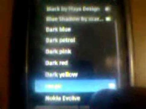 nokia 5233 letter themes themes for nokia 5233 5230 5530 5800 youtube