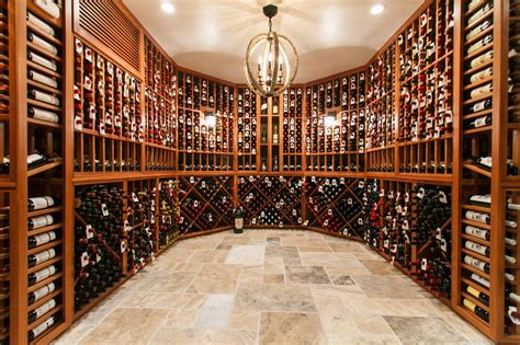 Huge Wall Mural 2013 s top 5 custom wine cellars on houzz building wine