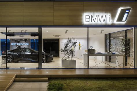 bmw showroom unique showroom dedicated to bmw i models opens in japan