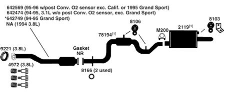 security system 1993 buick century spare parts catalogs buick regal exhaust diagram from best value auto parts