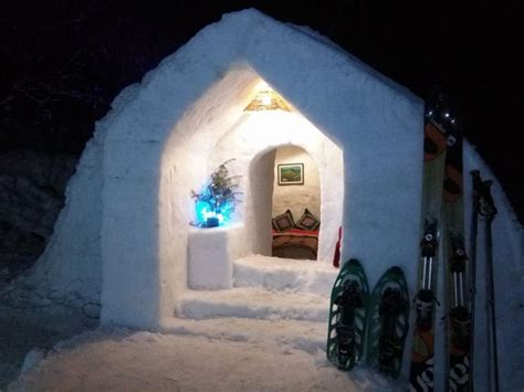 igloo house you can now spend a night inside an igloo if you re