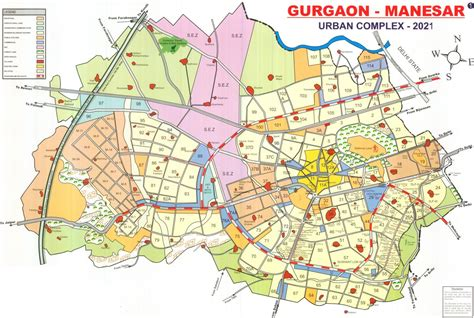 layout plan sector 52 gurgaon lifestyle supertech global realty property in gurgaon