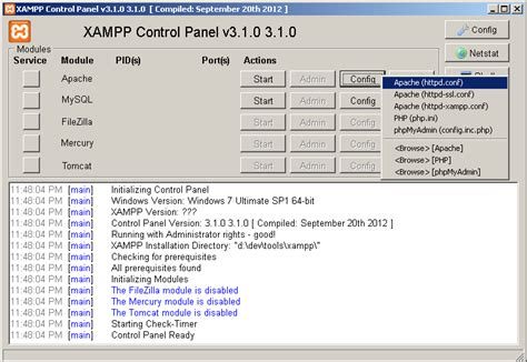 xp configure apache port 443 how to solve xampp problem port 80 443 in use by skype