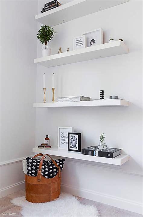 best 25 white wall shelves ideas on ikea