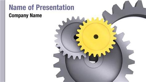 mechanic gears and wheels powerpoint template background mechanical engineering powerpoint templates powerpoint