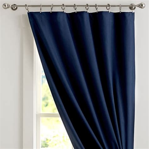 sailcloth drapes classic sailcloth blackout drape pbteen