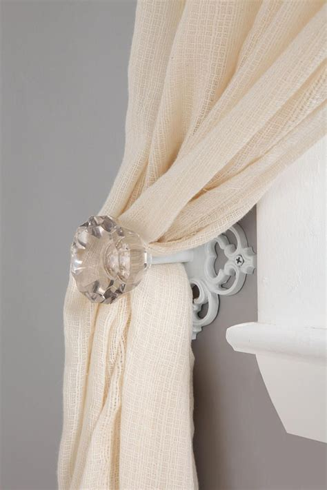 door knob curtain tie back 1000 ideas about glass door knobs on pinterest door