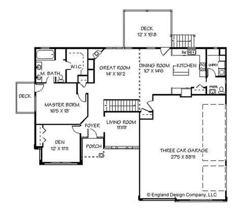 Simple Ranch House Plans by One Story Ranch House Plans Simple One Story House Plans