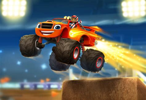 monster trucks tv show nickalive nickelodeon greenlights quot blaze and the monster