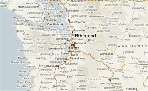 maps redmond redmond location guide