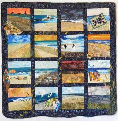 art quilt pattern for sale fiber art quilts beachscape these quilts are quot for sale