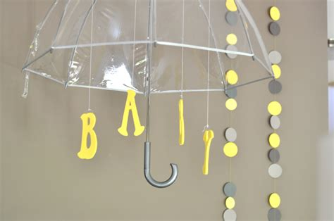 Gray And Yellow Baby Shower Decorations by Gray And Yellow Baby Shower Project Nursery