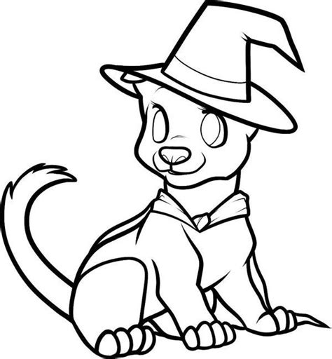halloween puppy coloring page cute halloween coloring pages dog animal coloring pages