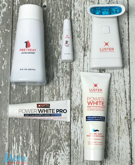 Luster Premium White Pro Light by Brighten Your Smile In Minutes Using Luster Premium White