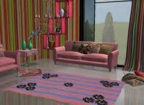 hippie living room mod the sims hippie recolor of jasmine s new living room