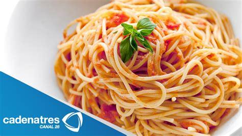 cocinar spaghetti receta de spaguetti c 243 mo preparar spaguetti comida
