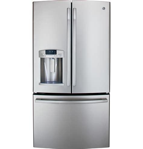 ge profile door fridge ge 174 27 7 cu ft door refrigerator gfe29hsdss