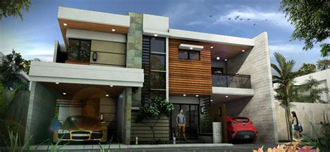 modern house design by christianyuri on deviantart