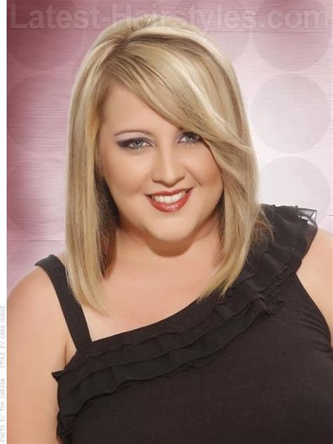 blonde haircuts for round faces beautiful medium blonde style for a round face i want my