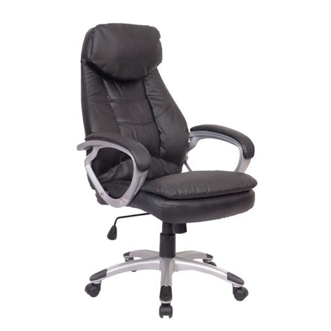 Black Office Chairs by Black Office Chair Real Leather Vidaxl