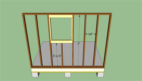 garden shed plans  howtospecialist   build