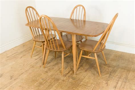 Ercol Dining Table And Chairs For Sale Ercol Dining Table And Chairs For Sale Mid Century Elm Dining Table And Chairs From Ercol For
