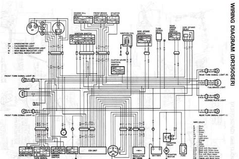 suzuki drs electrical wiring diagram   wiring