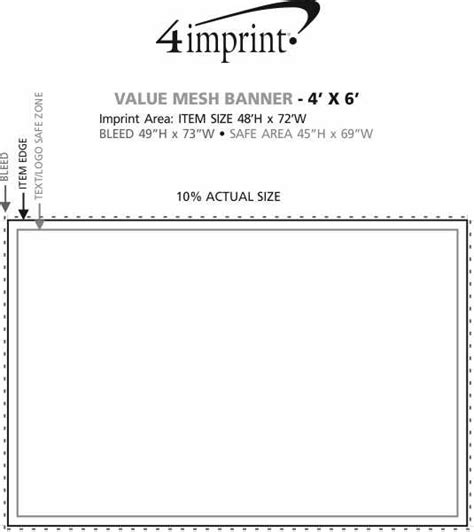section 111 of public law 110 173 4imprint com value mesh banner 4 x 6 139126 46