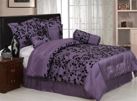 black floral bedding purple and black floral bedding www imgkid com the