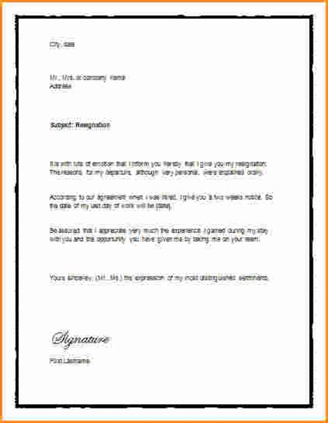 9  giving notice letter   Invoice Template Download