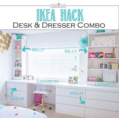 dresser desk combo ikea desk and dresser combo home ideas