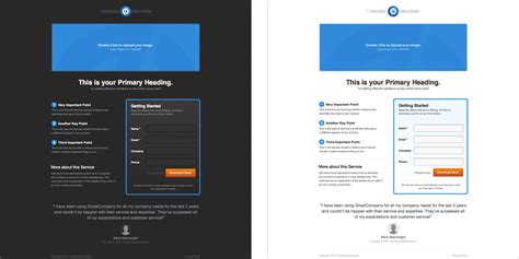 lead generation page template what are landing pages and why you should add them to your