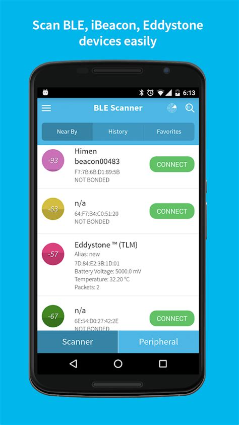 android ble ble scanner android apps on play