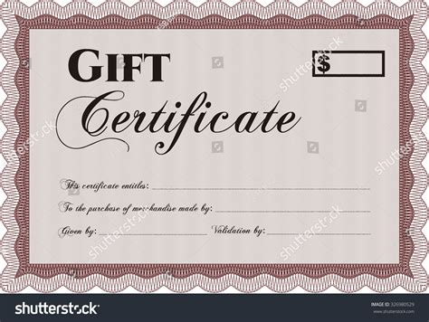 Gift Certificate Template Easy To Print Customizable Easy To Edit And Change Colors Elegant Edit Certificate Template