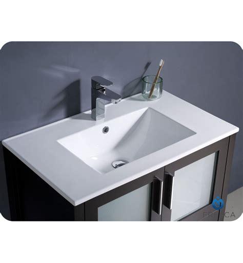 integrated bathroom sinks 30 torino espresso modern bathroom vanity w integrated