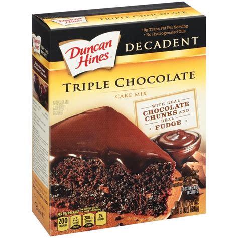 Chocolate Cake Mix decadent chocolate cake mix duncan hines