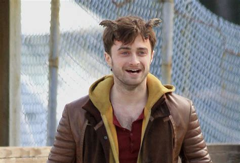 Daniel Radcliffe Shows His Wang by Harry Potter Becomes A Goat Sort Of Not Really Horns