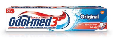 Be Original 3 testtante 180 s odol med 3 complete care mit