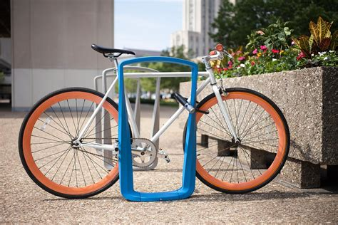 Backyard Bike Rack by Twist Bike Rack Outdoor Forms Surfaces India