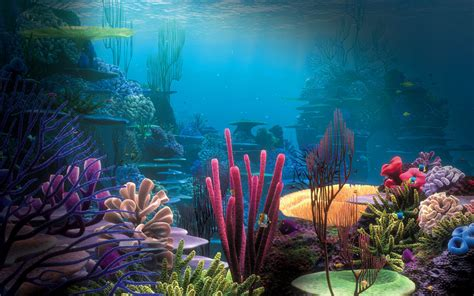 25 Aquarium Backgrounds Wallpapers Freecreatives Backgrounds For Fish Tanks Printable Free