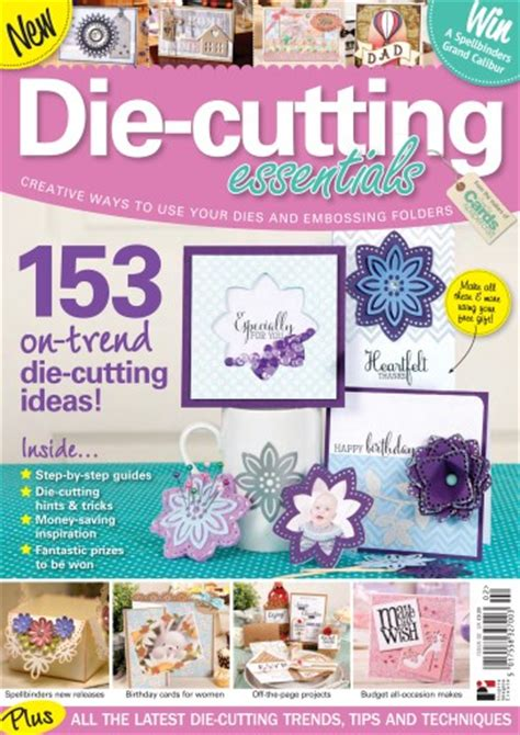 Papercraft Essentials - papercraft essentials die cutting essentials issue 2