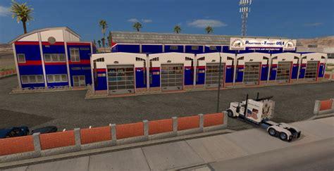 Usa Garage Powerhouse Transport Usa Garage Mod Ats Mod American