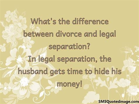 Marriage separation and divorce brochure by mail