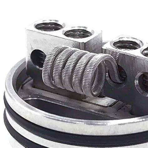 Kawat Wire Fused Clapton Nichrome 80 Ni80 No Khantal Ss Niklin Coil 16ft vapeyaya 2 parallel fused clapton coil