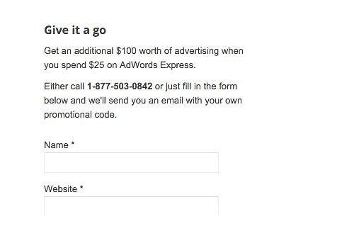 google ads coupon code