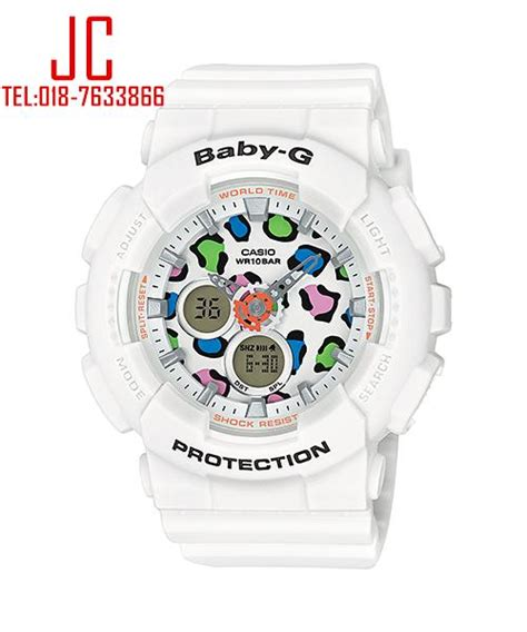 Sale Casio Baby G Original Ba 110 Series Black Grey casio baby g ba 120lp 7a1 leopard series end 12 30 2017