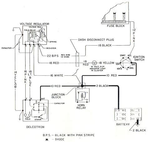 powermaster one wire alternator wiring diagram alternator