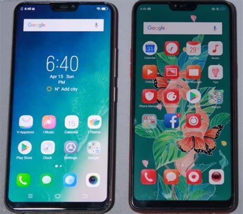 Handphone Vivo Vs by Komparasi Vivo V9 Vs Oppo F7 Duel Ponsel Swafoto
