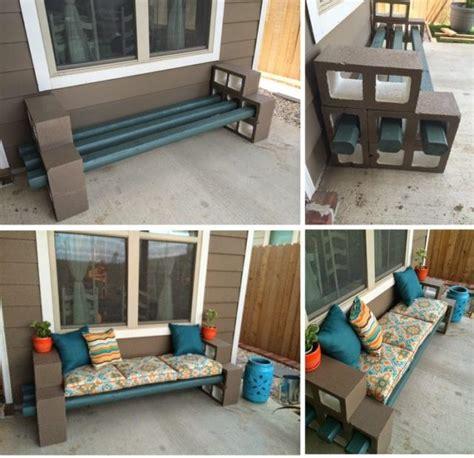 diy cinder block bench diy cinder block bench home design garden