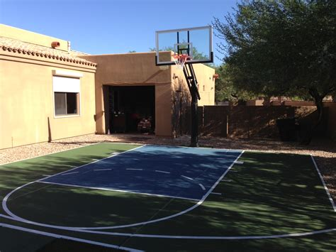 garage in the backyard photo basketball court lay out images dimensions haammss
